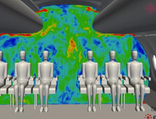 Simulación DES de la ventilación de una aeronave